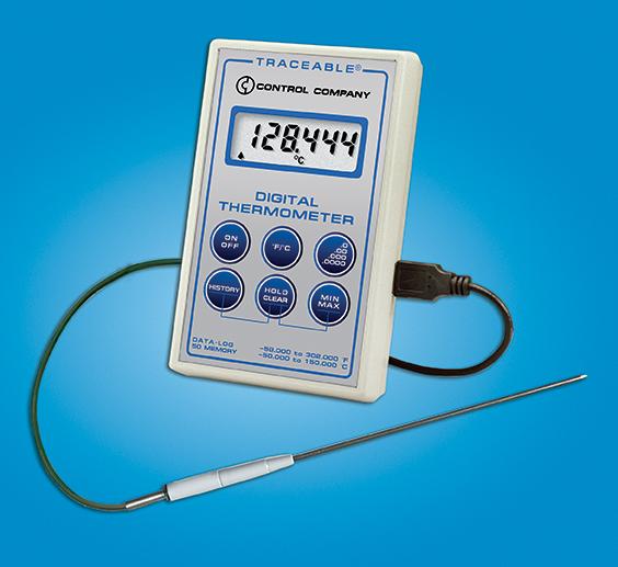 Thermomètre de référence à précision élevée-0