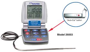 Thermomètre numérique de cuisson avec sonde externe-0