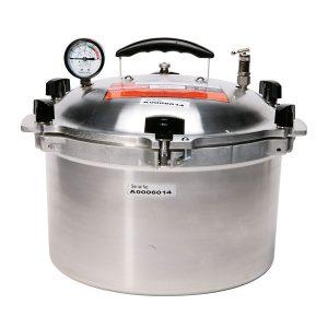 Autocuiseur à pression en aluminium, 14L-0