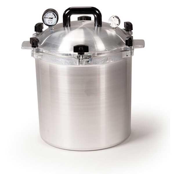 Autocuiseur à pression en aluminium, 24L-0