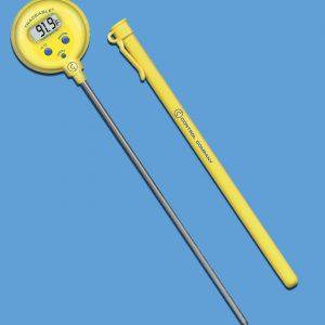 """Thermomètre de poche étanche, tige de 8""""-0"""