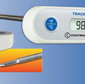"""Thermomètre robuste de poche étanche, tige de 8""""-0"""