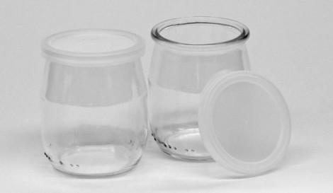 Pots à yogourt en verre, 140mL, 48/CS-2737