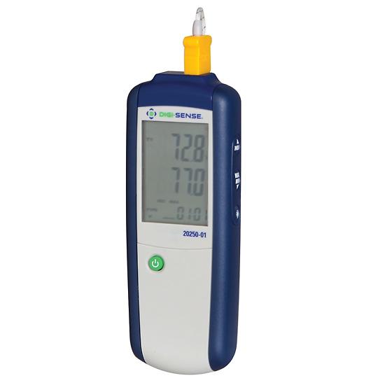 Thermomètre thermocouple économique, type J & K