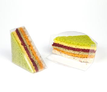 Mini boîtes pour sandwich, 100/pqt-0