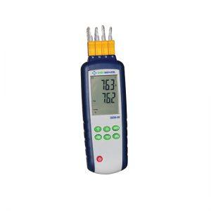 Thermomètre thermocouple enregistreur à quatre canaux