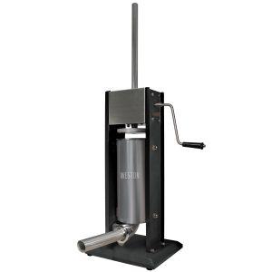 Poussoir à saucisse vertical en acier inox, capacité de 7 lbs-0