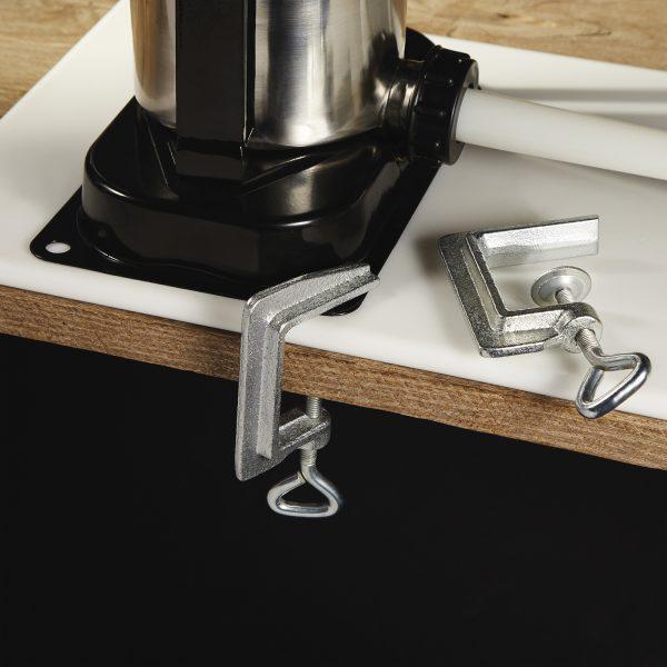 Poussoir à saucisse vertical en acier inox, capacité de 5 lbs-3084