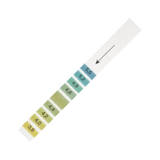 Bandelettes de pH pour le riz à sushi, 200/pqt