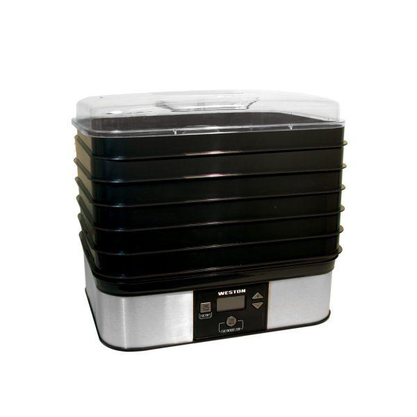 Déshydrateur numérique pour aliments à 6 plateaux