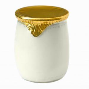 Pellicules thermo-scellantes dorées, 100/pqt-0