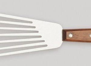 Spatule Flexible à Omelette, manche de bois-0
