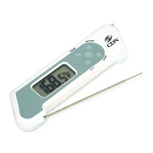 Thermomètre à sonde repliable à réponse rapide-0