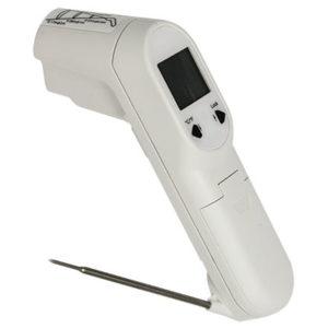 Thermomètre Infrarouge avec sonde repliable