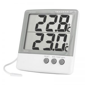 Thermomètre mural pour intérieur/extérieur