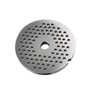 Grille avec trous de 6 mm pour hachoirs #10 ou 12-0