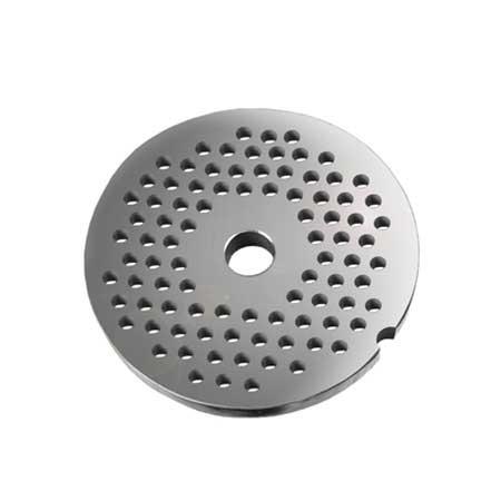 Grille avec trous de 6 mm pour hachoirs #10 ou 12
