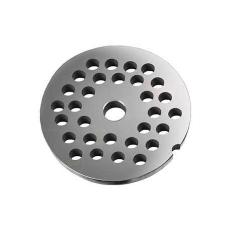 Grille avec trous de 10 mm pour hachoirs #10 ou 12