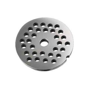 Grille avec trous de 10 mm pour hachoirs #20 ou 22