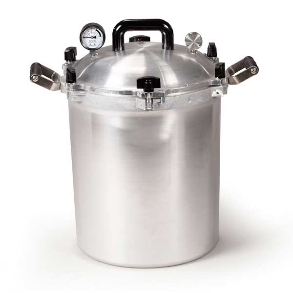 Autocuiseur à pression en aluminium, 28L-0