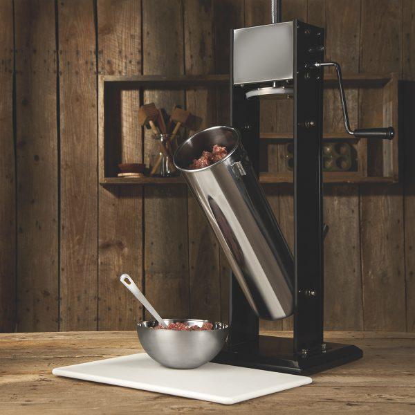 Poussoir à saucisse vertical en acier inox, capacité de 15 lbs-3086