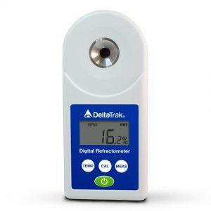 Réfractomètre numérique portatif DeltaTrak, échelle 0 à 55% brix-0