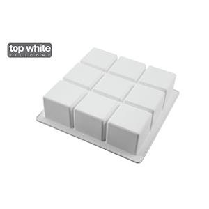 Moule de silicone style cubique-0