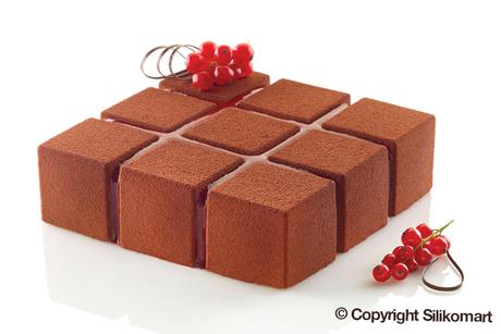 Moule de silicone style cubique-2994
