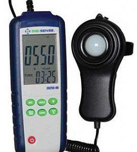 Luxmètre enregistreur avec sonde externe-0