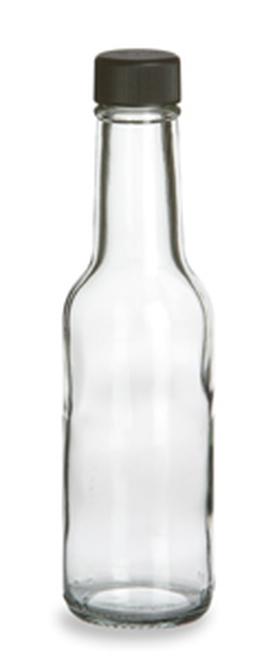 Bouteilles de verre pour Sauce, 10 oz (300mL), 12/CS