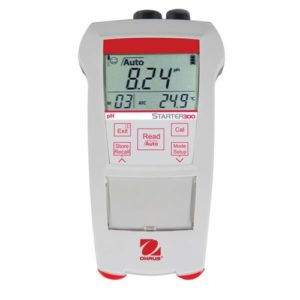 OHAUS portable pH meter