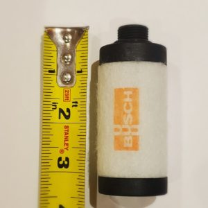 Filtre pour emballeuses Minipack MVS31 avec pompe Busch