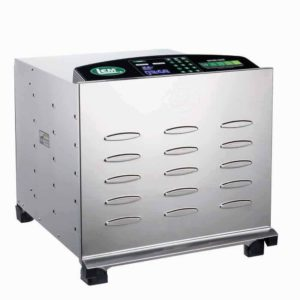 10-Tray Big Bite® Digital Stainless Steel Food Dehydrator