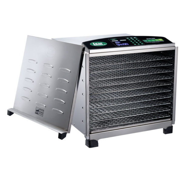 10-Tray Big Bite® Digital Stainless Steel Food Dehydrator
