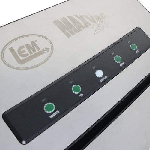 MaxVac® 250 heavy-duty external vacuum sealer with roll storage